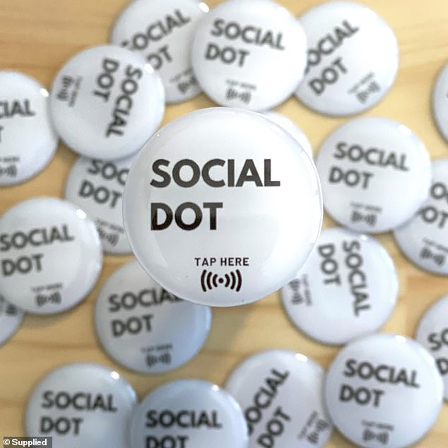 Mia said by now a seemingly endless number of companies have jumped on board and started using social dot, including real estate agents for rental forms, cafes for typable menus, and photographers to display portfolios or galleries