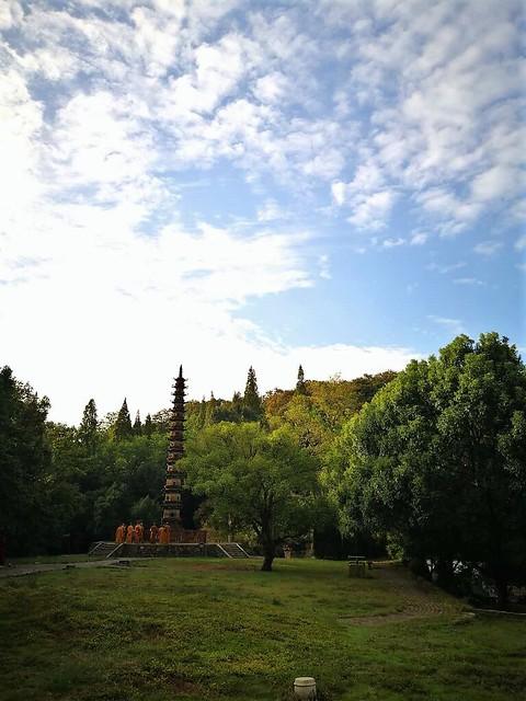 The iron pagoda of the Yuquan Monastery