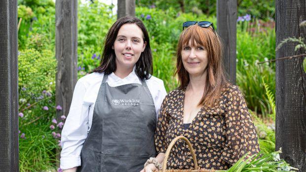 Danni Barry, executive chef and Lisa Wilkinson, owner of The Wicklow Escape. Photograph: Liosa McNamara