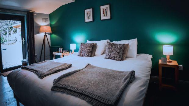The Wicklow Escape - bedroom 1 Liosa